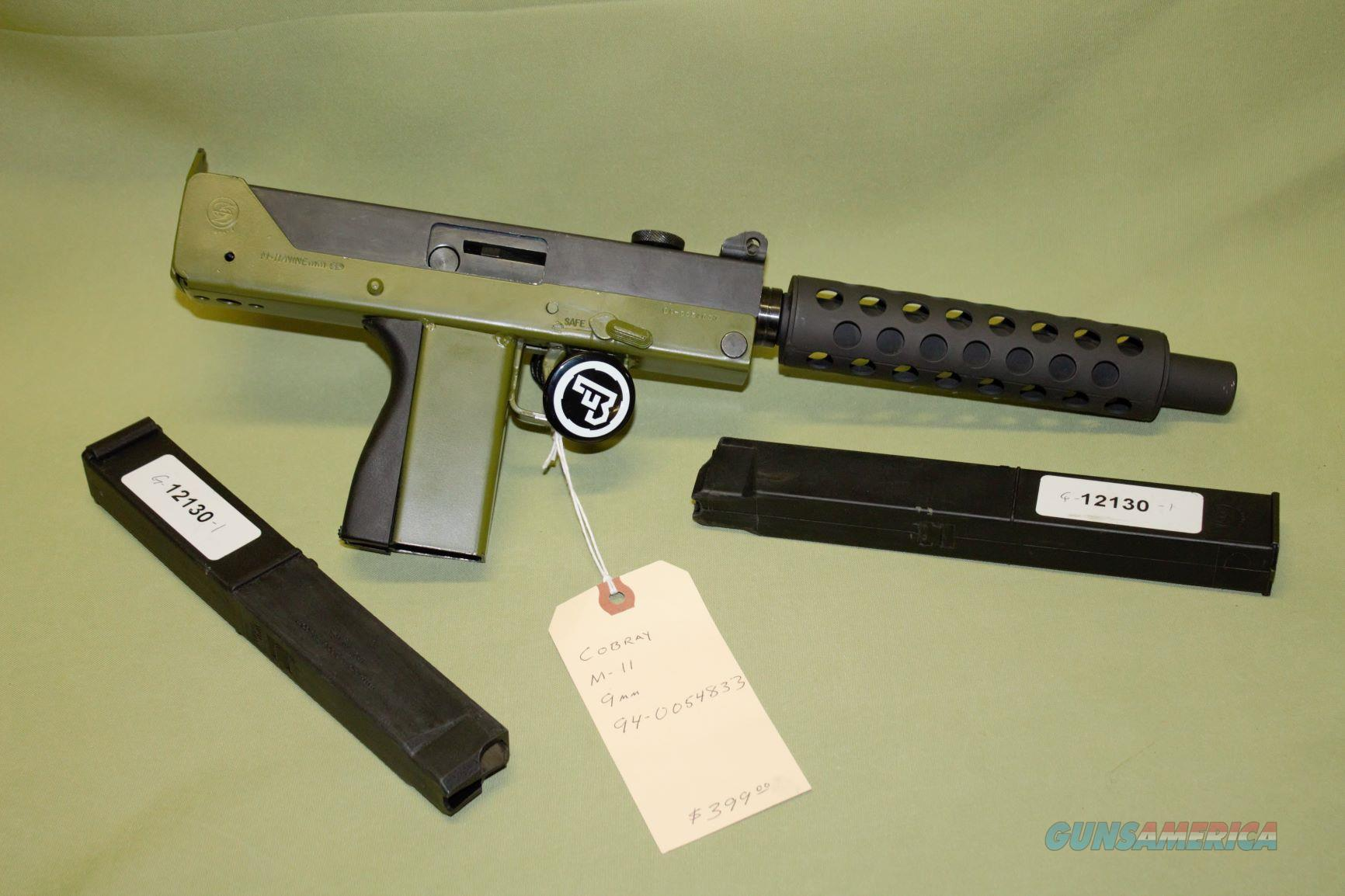 Cobray M-11 9mm  Guns > Pistols > Cobray Pistols