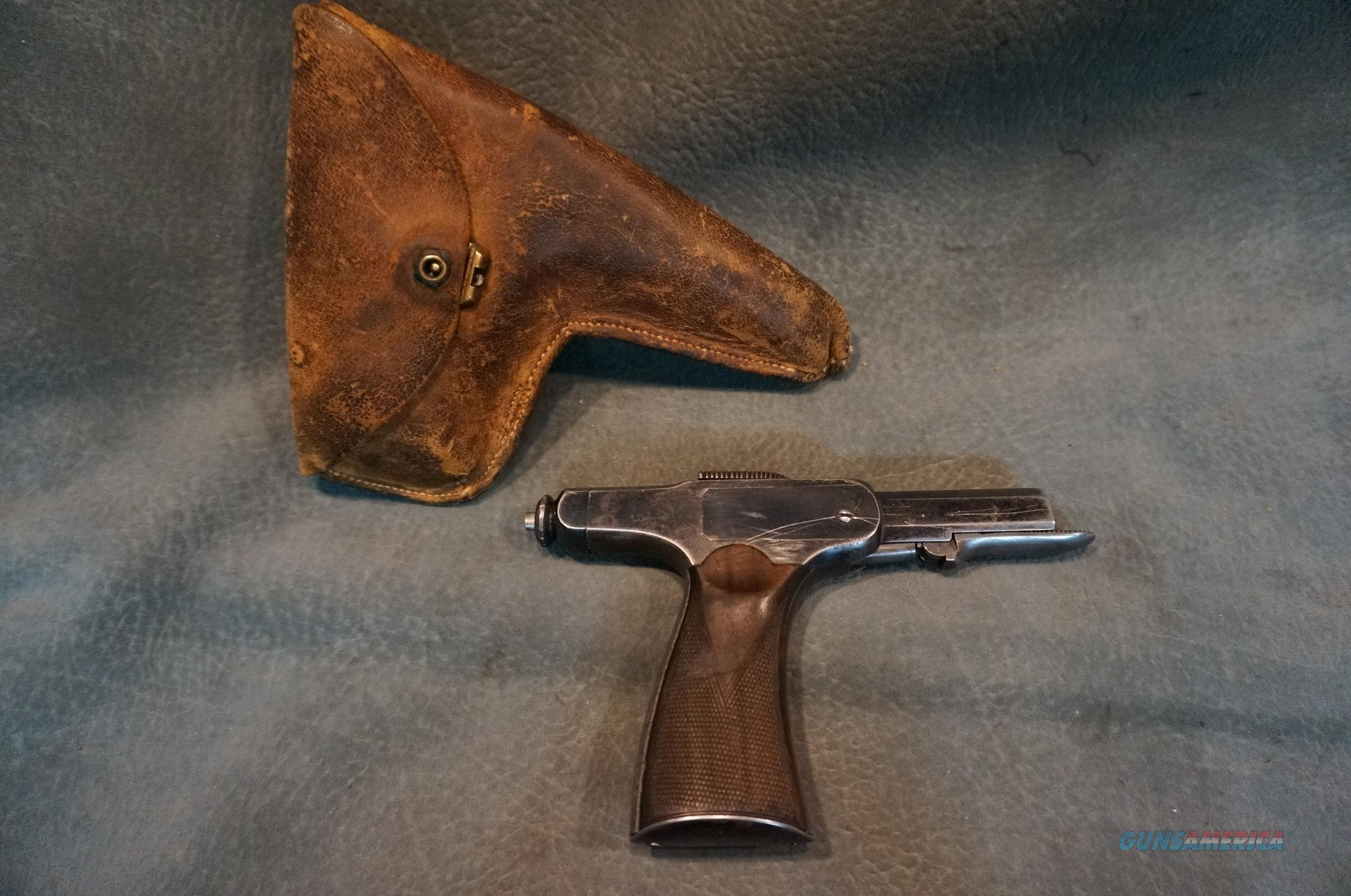 Rare Early Automatic Brun Latridge 1900   Guns > Pistols > B Misc Pistols