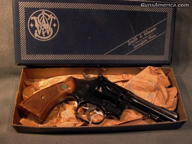 "M48-3 22Mag 4"" with box  Guns > Pistols > Smith & Wesson Revolvers"