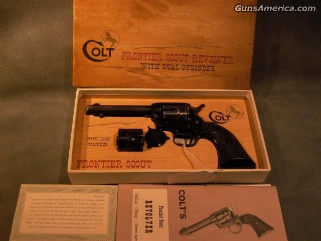 Frontier Scout 22/22Mag w/box  Guns > Pistols > Colt Single Action Revolvers - Modern (22 Cal.)