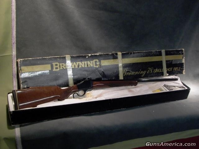 B-78 6mm Remington  Guns > Rifles > Browning Rifles