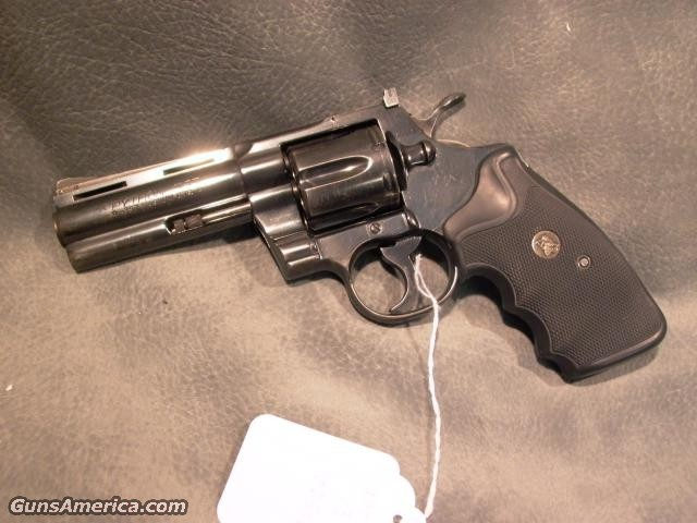 "Python 357Mag 4""  Guns > Pistols > Colt Double Action Revolvers- Modern"