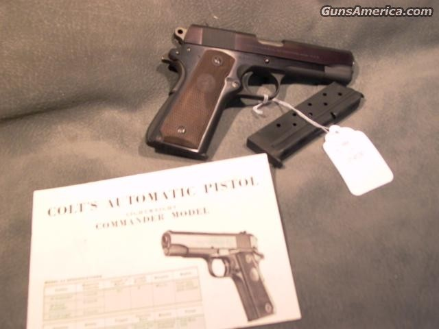 Early 9MM Commander  Guns > Pistols > Colt Automatic Pistols (1911 & Var)