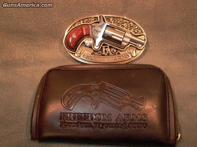 22LR mini-revolver belt buckle  Guns > Pistols > Freedom Arms Pistols