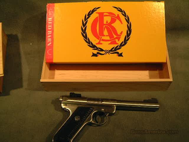 Ruger RCA Red Barn 22LR  Guns > Pistols > Ruger Semi-Auto Pistols > Mark II Family