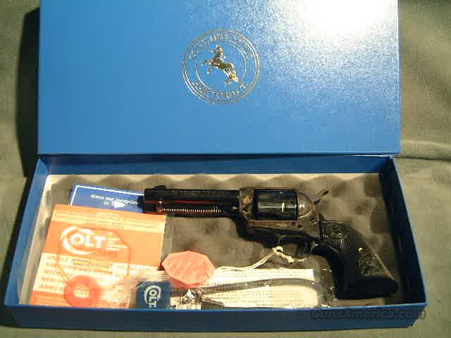 "Colt SAA 357 4 3/4""  Guns > Pistols > Colt Single Action Revolvers - 3rd Gen."