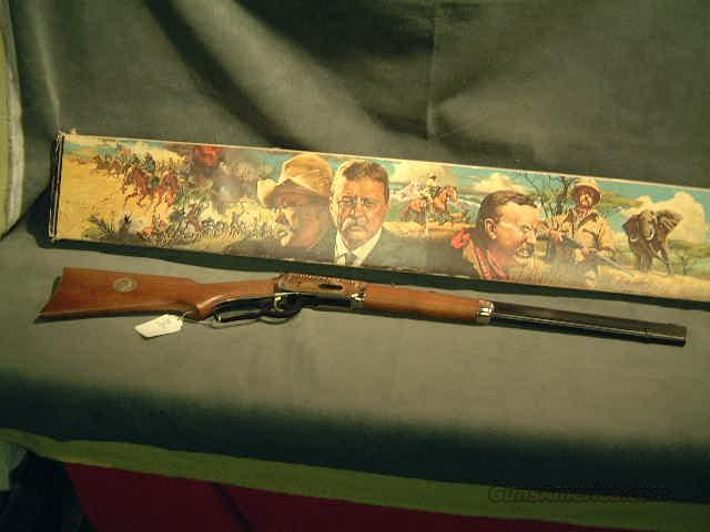 Winchester Teddy Roosevelt  Guns > Rifles > Winchester Rifle Commemoratives