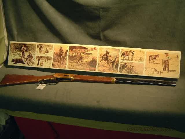 Winchester 66 Centennial  Guns > Rifles > Winchester Rifle Commemoratives