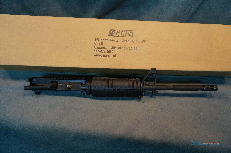 R Guns 556 1 in 8 upper  Non-Guns > Gun Parts > M16-AR15 > Upper Only