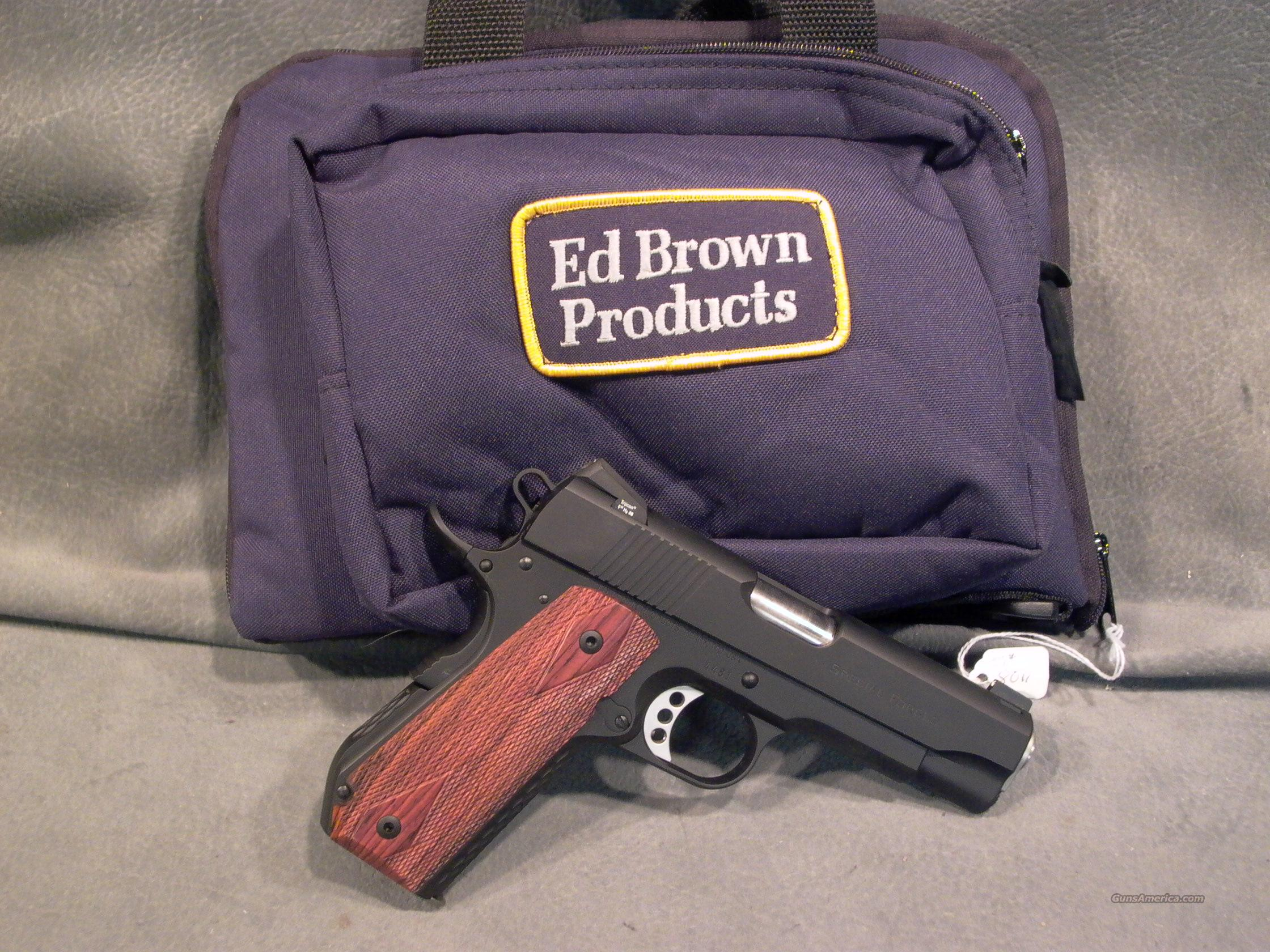 Ed Brown Special Forces Carry 45ACP Bobtail  Guns > Pistols > Ed Brown Pistols