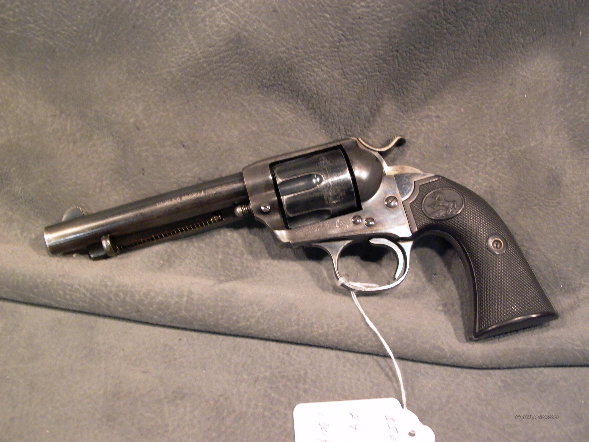 Colt Bisley SAA 38-40  Guns > Pistols > Colt Single Action Revolvers - 1st Gen.
