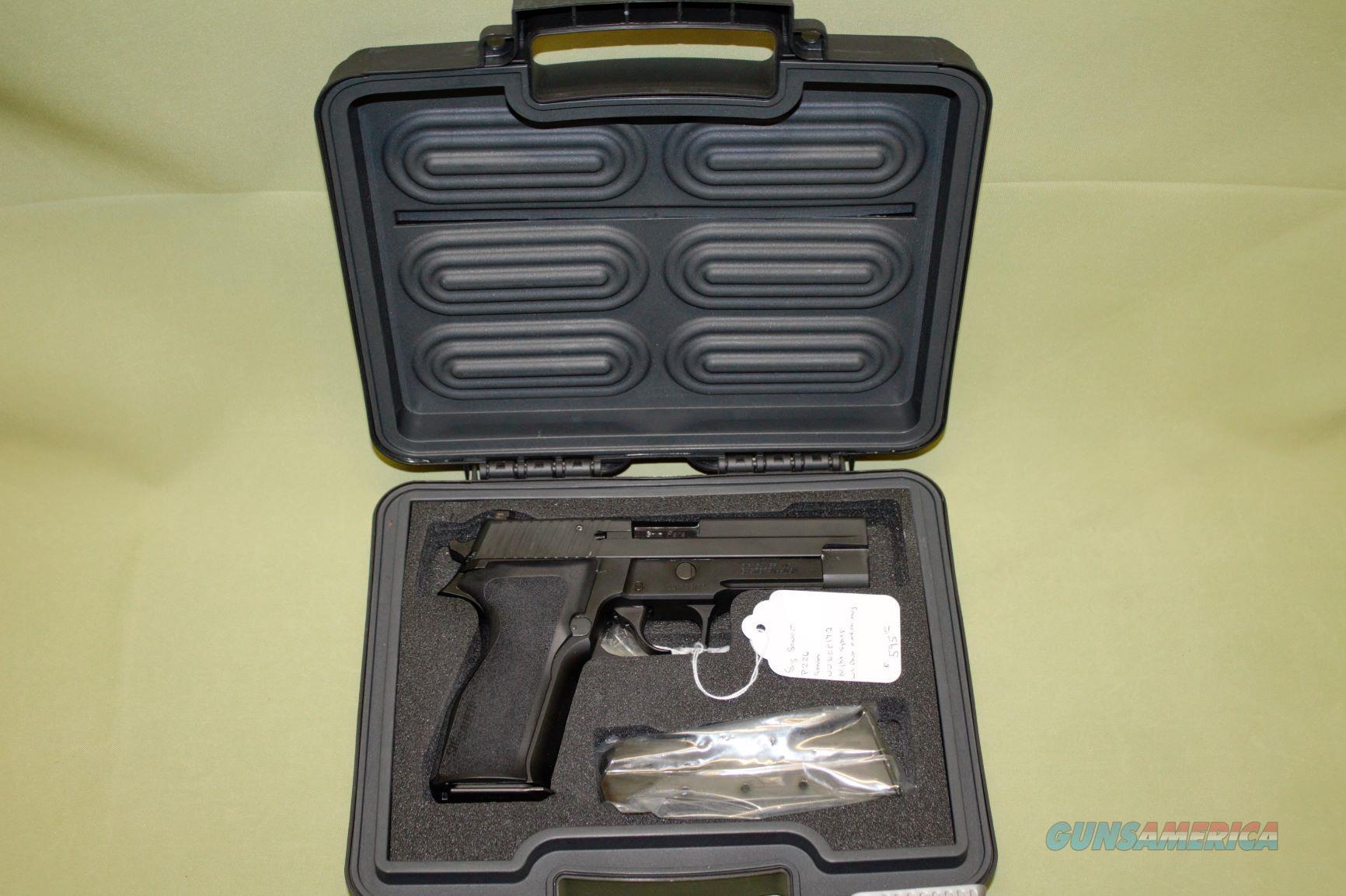 Sig Sauer P226 9mm   Guns > Pistols > Sig - Sauer/Sigarms Pistols > P226