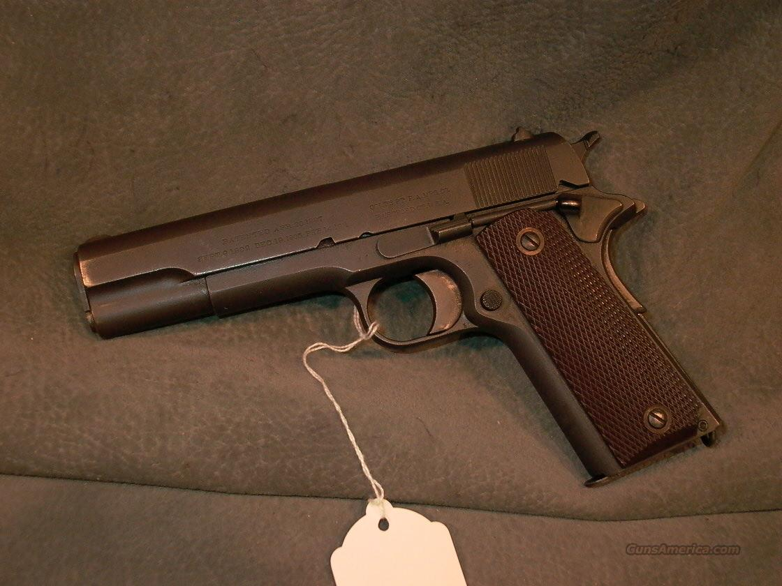 Colt 1911 US Army 45ACP 1918  Guns > Pistols > Military Misc. Pistols US > 1911 Pattern