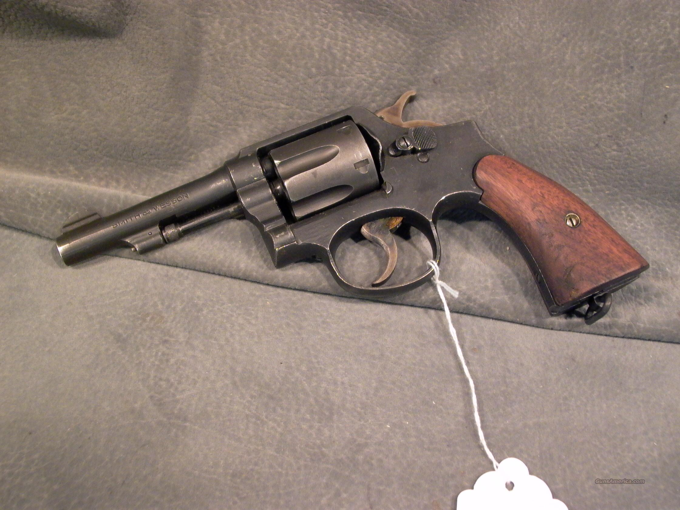 S+W Victory 38Sp Navy marked  Guns > Pistols > Smith & Wesson Revolvers > Model 10