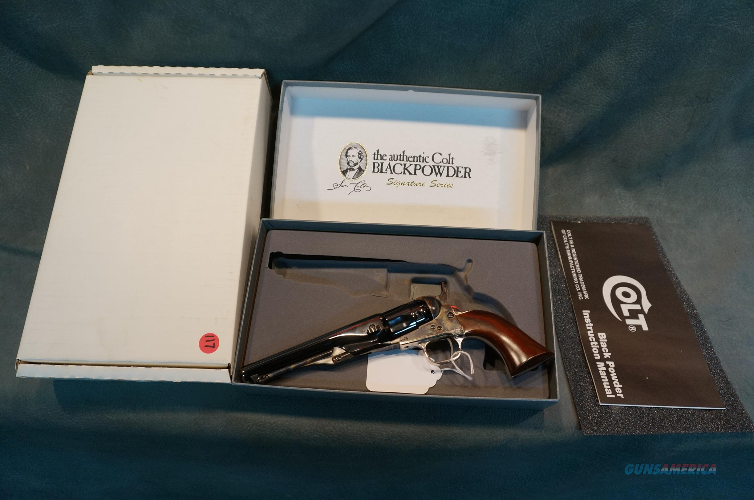 Colt Signature Series 1862 Pocket Police 36Cal NIB  Guns > Pistols > Colt Percussion Revolver - Modern
