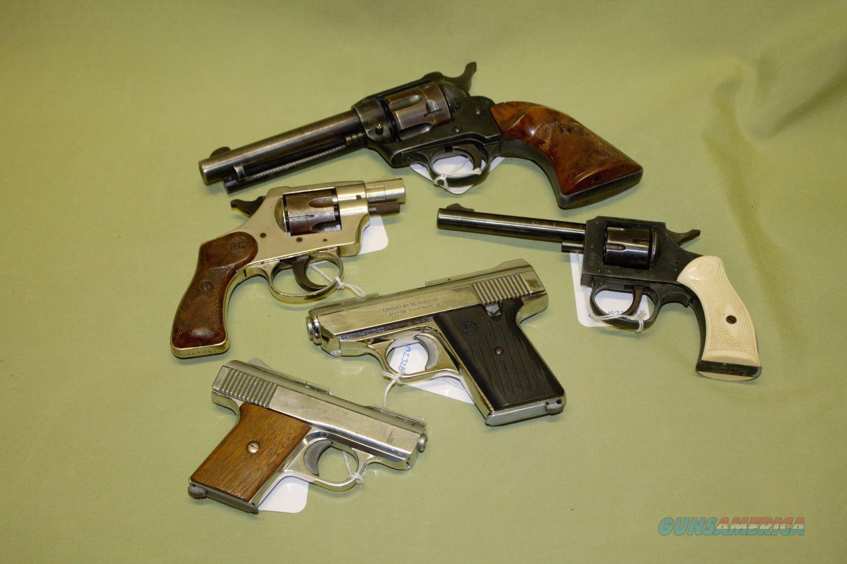Cobra, Raven Arms, HS, RG pistols  Guns > Pistols > R Misc Pistols