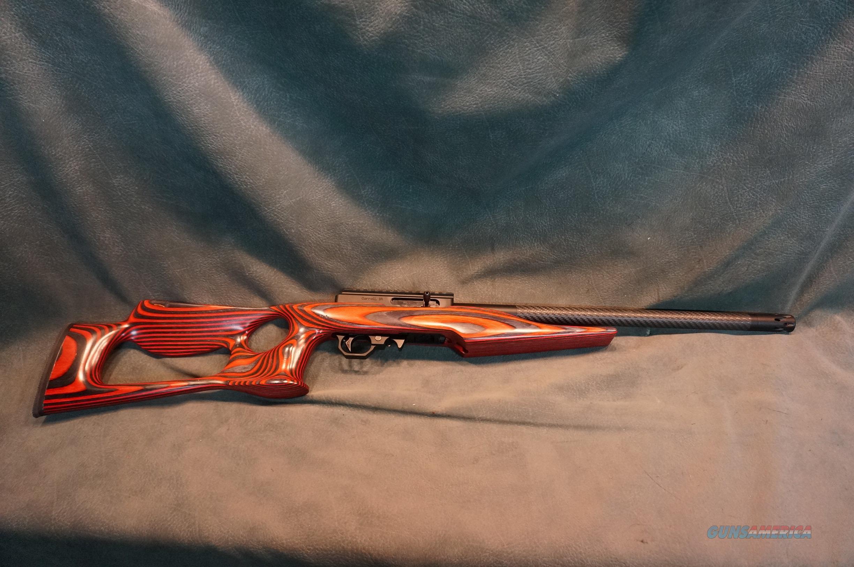 Volquartsen 22LR Superlight w/Red Thumbhole Stock  Guns > Rifles > Volquartsen