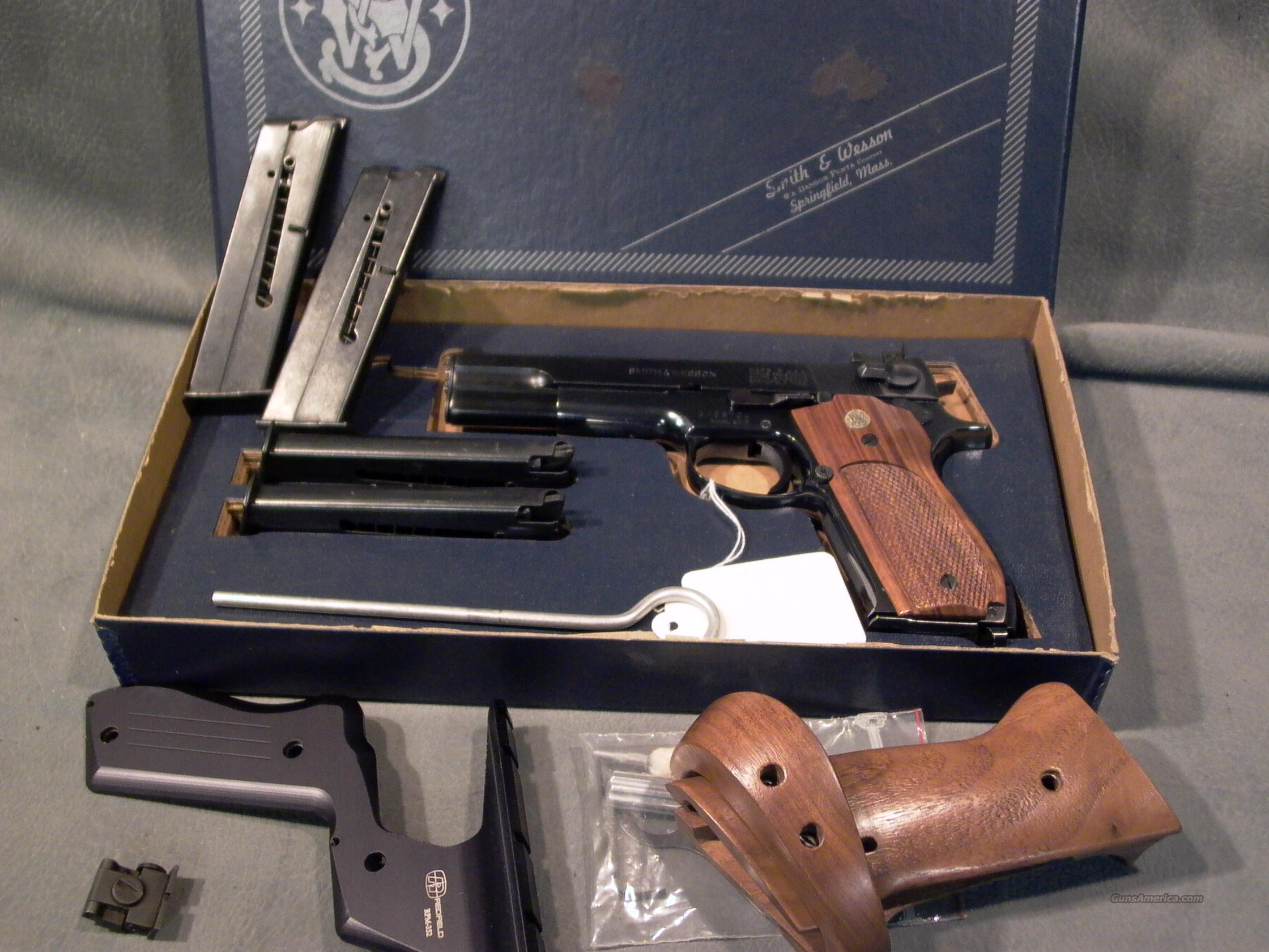 S+W Model 52-2 38Special   Guns > Pistols > Smith & Wesson Pistols - Autos > Steel Frame