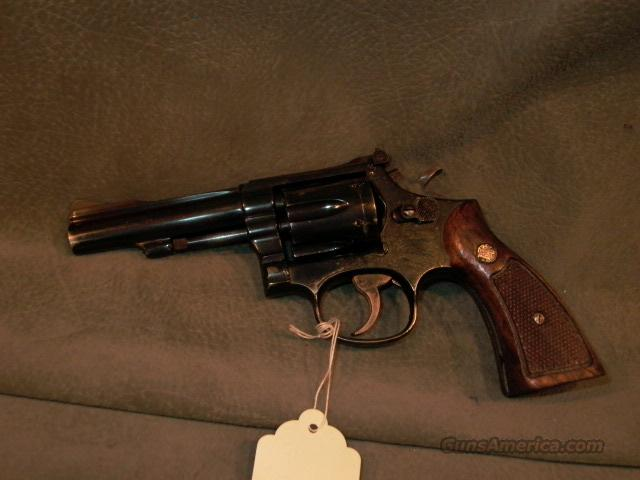 "S+W M18-4 22LR 4""  Guns > Pistols > Smith & Wesson Revolvers > Full Frame Revolver"