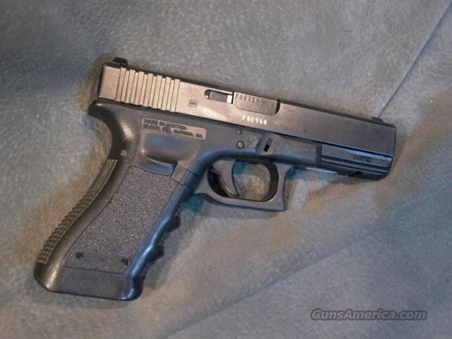 Glock Model 22 40S+W Gen 3 Night Sights  Guns > Pistols > Glock Pistols > 22