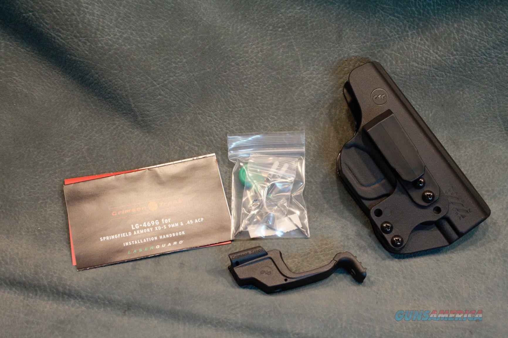 Crimson Trace Springfield Armory XD-S laser with IWB holster  Non-Guns > Gun Parts > Misc > Pistols