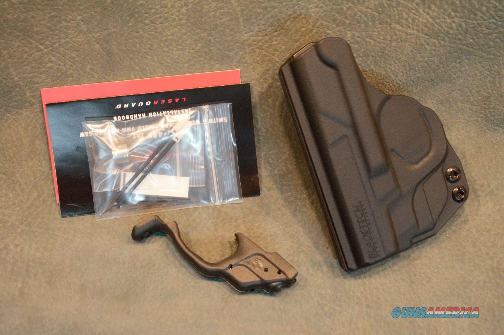 Crimson Trace S&W M&P Shield green laser with IWB holster  Non-Guns > Gun Parts > Misc > Pistols
