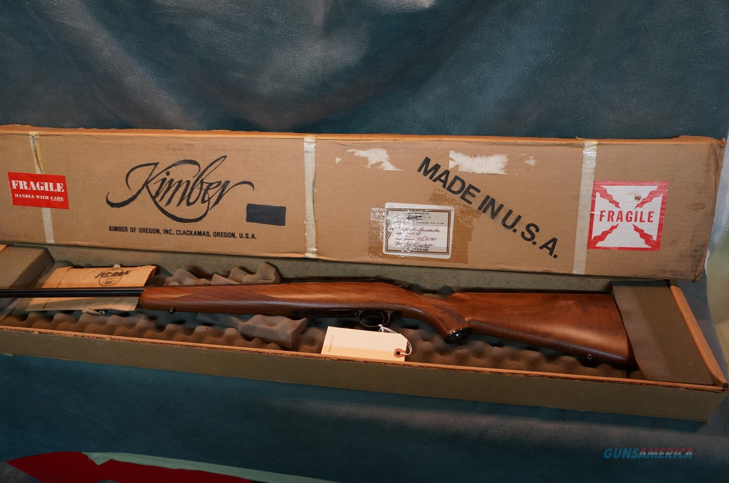 Kimber of Oregon M84 223 Classic New in the box!  Guns > Rifles > Kimber of Oregon Rifles
