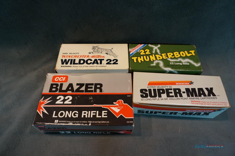 4 bricks 22LR ammunition Winchester  Wildcat  Remington   Non-Guns > Ammunition