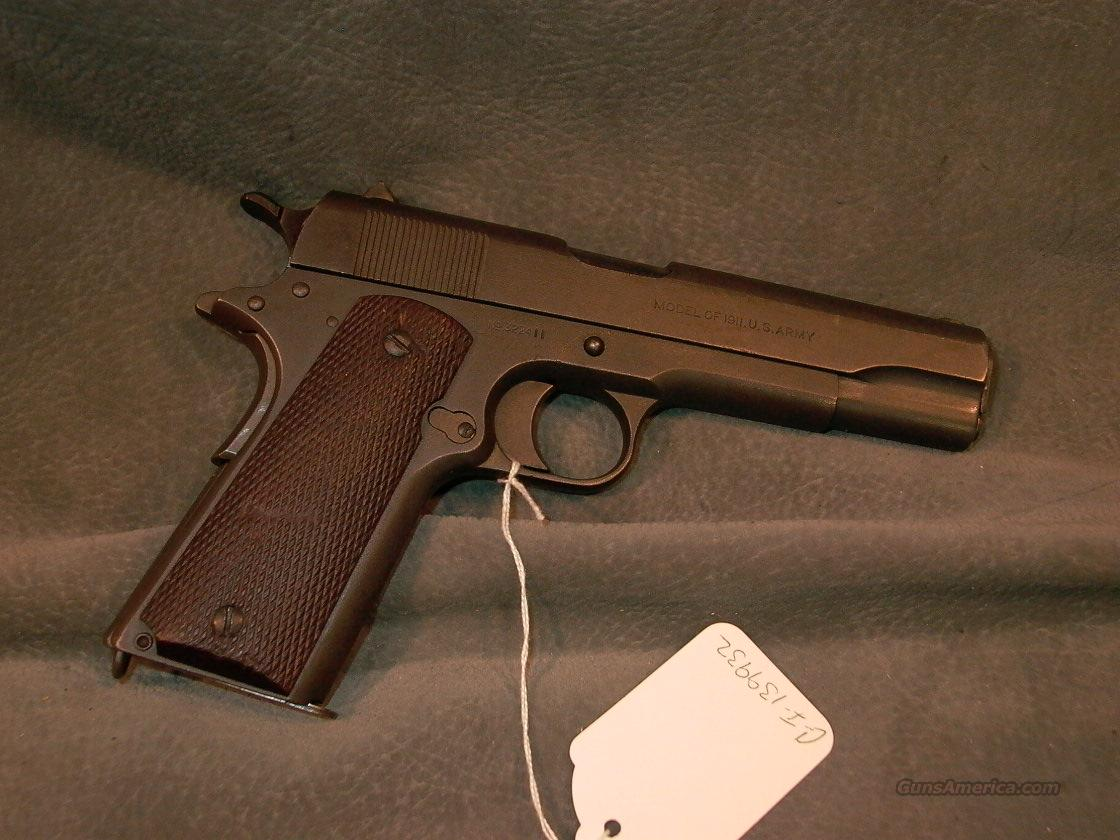 Colt 1911 US Army 45ACP  Guns > Pistols > Military Misc. Pistols US > 1911 Pattern