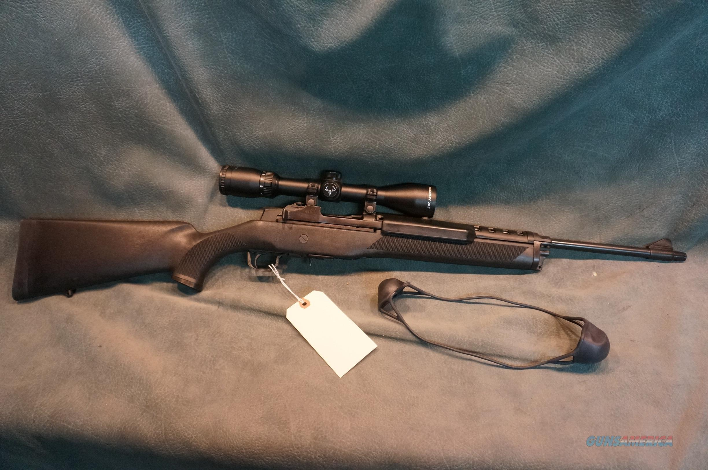 Ruger Mini 14 223 synthetic Ranch Rifle w/scope  Guns > Rifles > Ruger Rifles > Mini-14 Type
