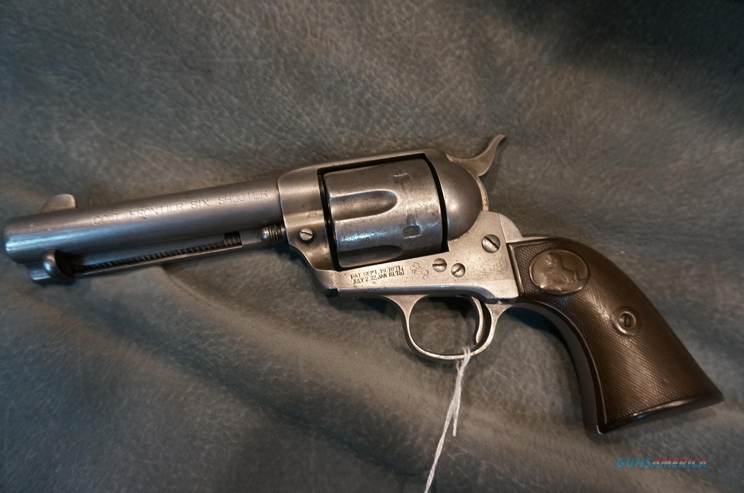 Colt SAA 44-40 Frontier Six Shooter 1st Gen  Guns > Pistols > Colt Single Action Revolvers - 1st Gen.