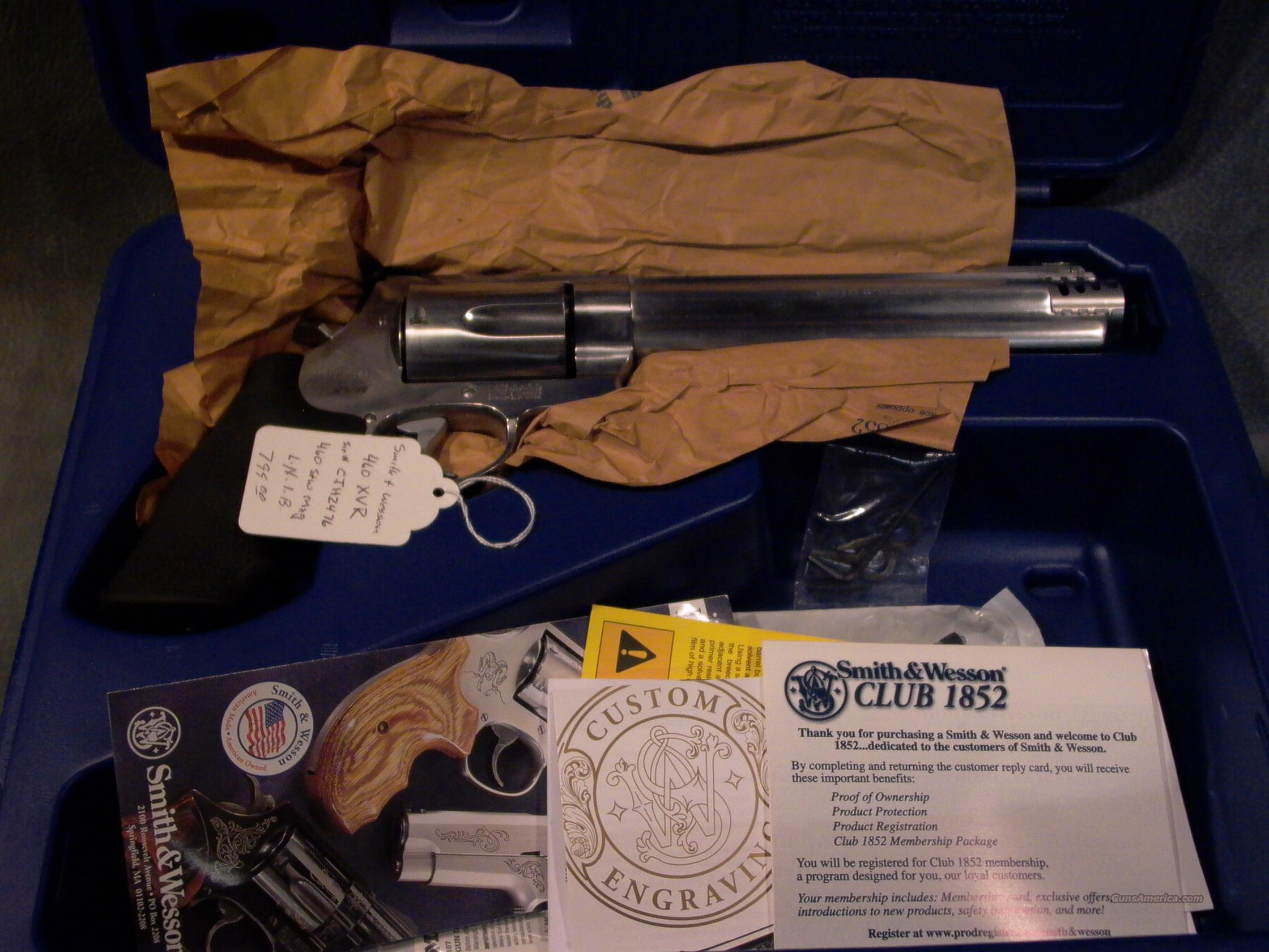 Smith and Wesson Model 460 XVR   Guns > Pistols > Smith & Wesson Revolvers > Full Frame Revolver