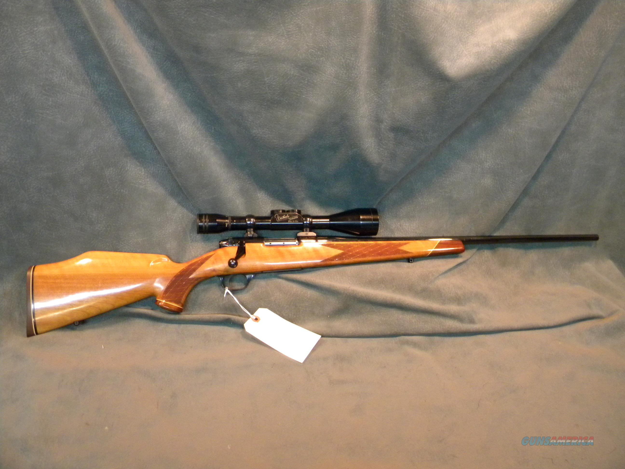 German Weatherby 22-250 Mark V Deluxe Varmintmaster  Guns > Rifles > Weatherby Rifles > Sporting