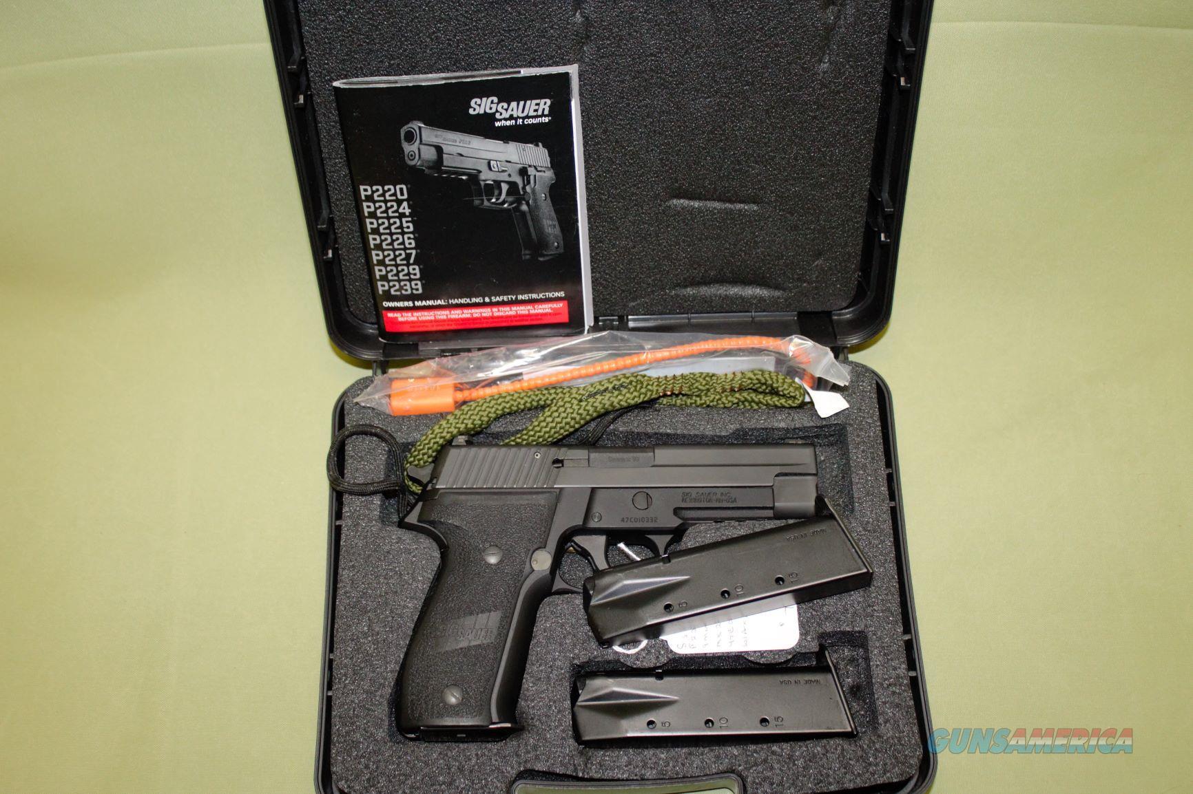 SigSauer P226 MK 25 9mm  Guns > Pistols > Sig - Sauer/Sigarms Pistols > P226