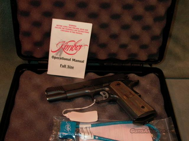 Kimber Tactical Custom II 45ACP  Guns > Pistols > Kimber of America Pistols