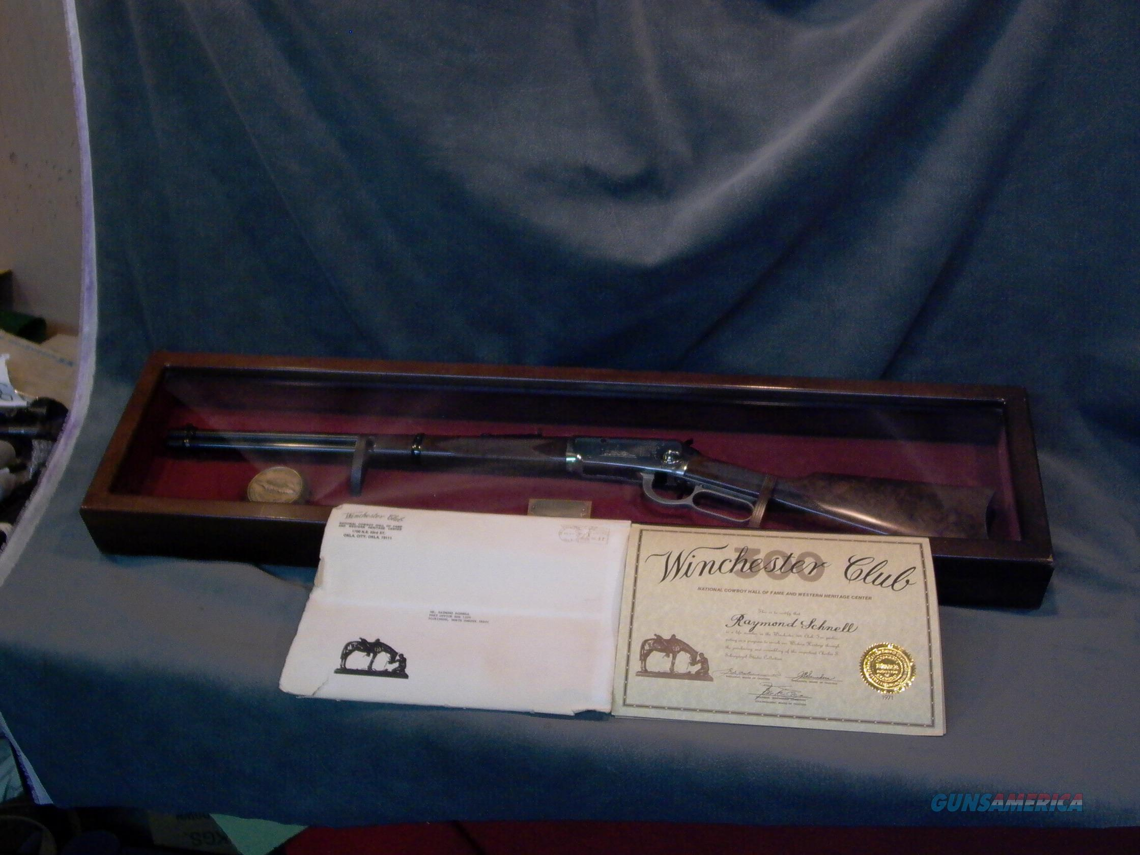 Winchester Cowboy 1 of 300 National Cowboy Hall of Fame  Guns > Rifles > Winchester Rifle Commemoratives