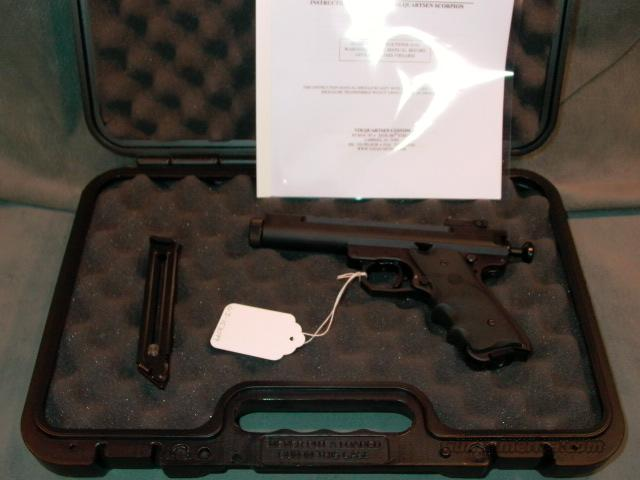 "Volquartsen Scorpion 22LR Black 4.5""  Guns > Pistols > Custom Pistols > Other"