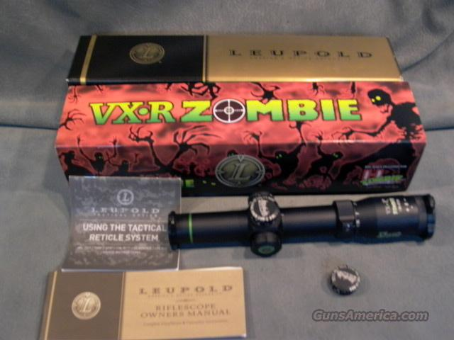 Leupold VX-R Zombie 1.25-4X20  Non-Guns > Scopes/Mounts/Rings & Optics > Tactical Scopes > Variable Recticle