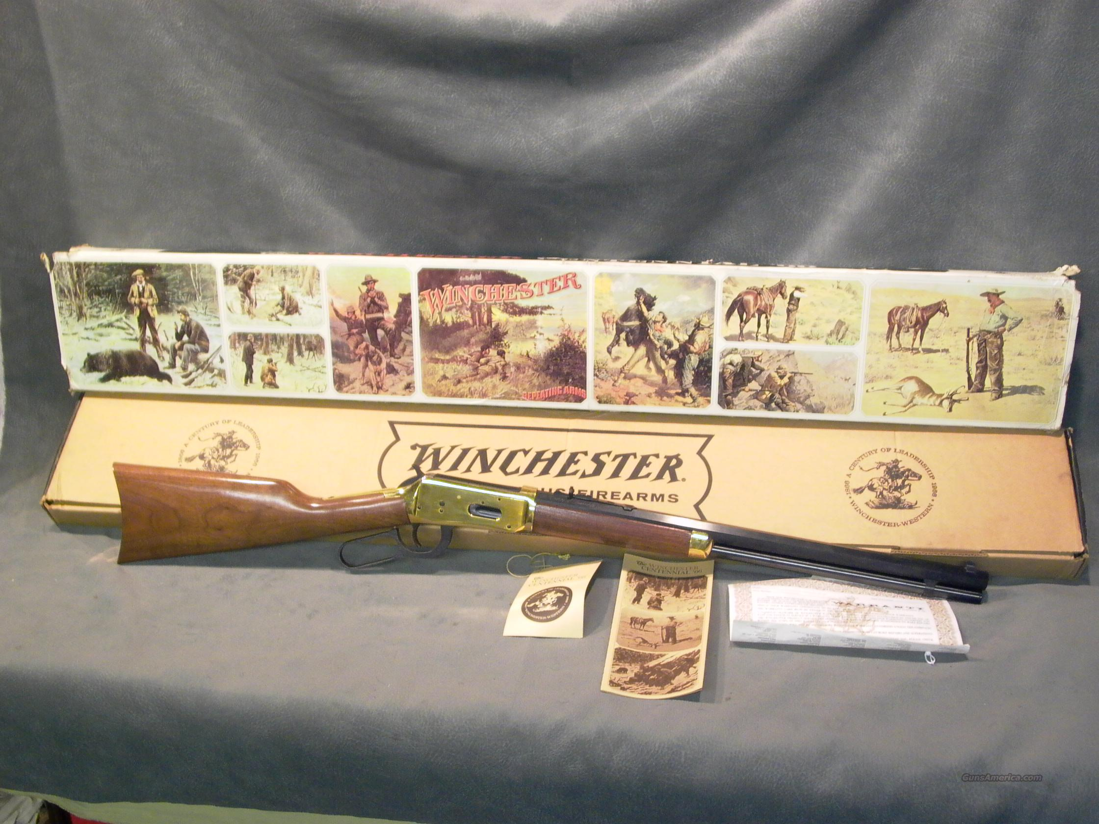 Winchester M94 66 Carbine 30X30  Guns > Rifles > Winchester Rifle Commemoratives