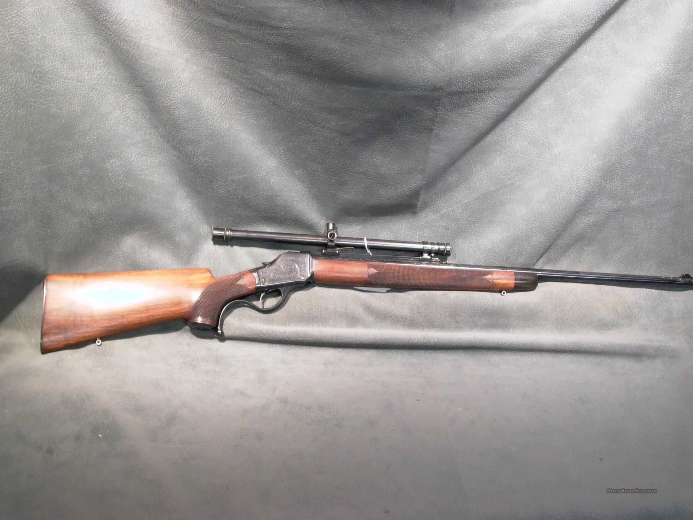 Sedgley Custom 1885 Hi Wall 22 Hornet  Guns > Rifles > Custom Rifles > Other