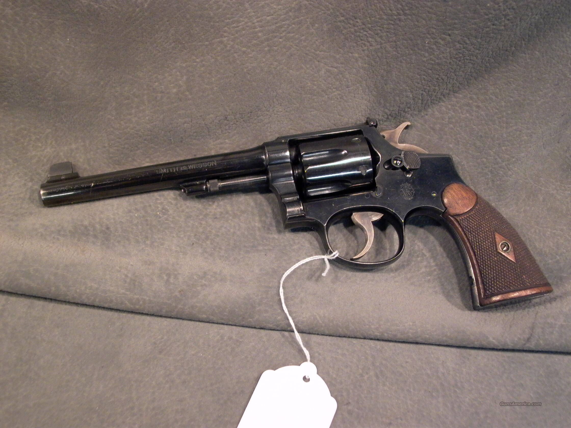 S+W 38M+P 1905 4th Target Model  Guns > Pistols > Smith & Wesson Revolvers > Model 10