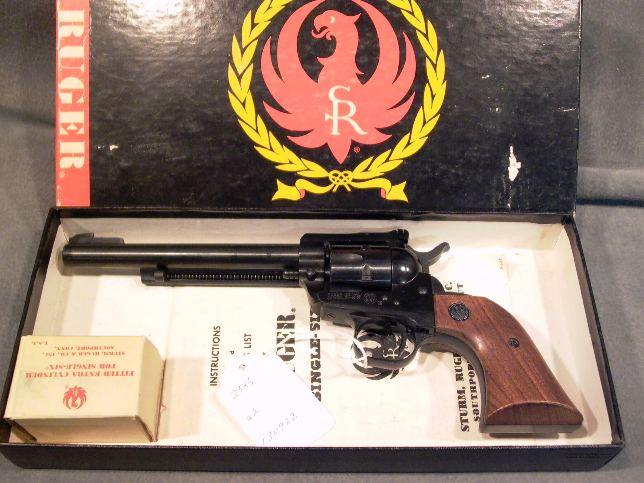 Ruger Old Model Single Six 22/22mag  Guns > Pistols > Ruger Single Action Revolvers > Single Six Type