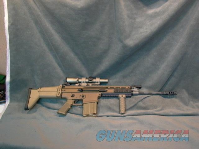 FNH Scar 17S 7.62x51 308 Dark Earth  Guns > Rifles > FNH - Fabrique Nationale (FN) Rifles > Semi-auto > Other