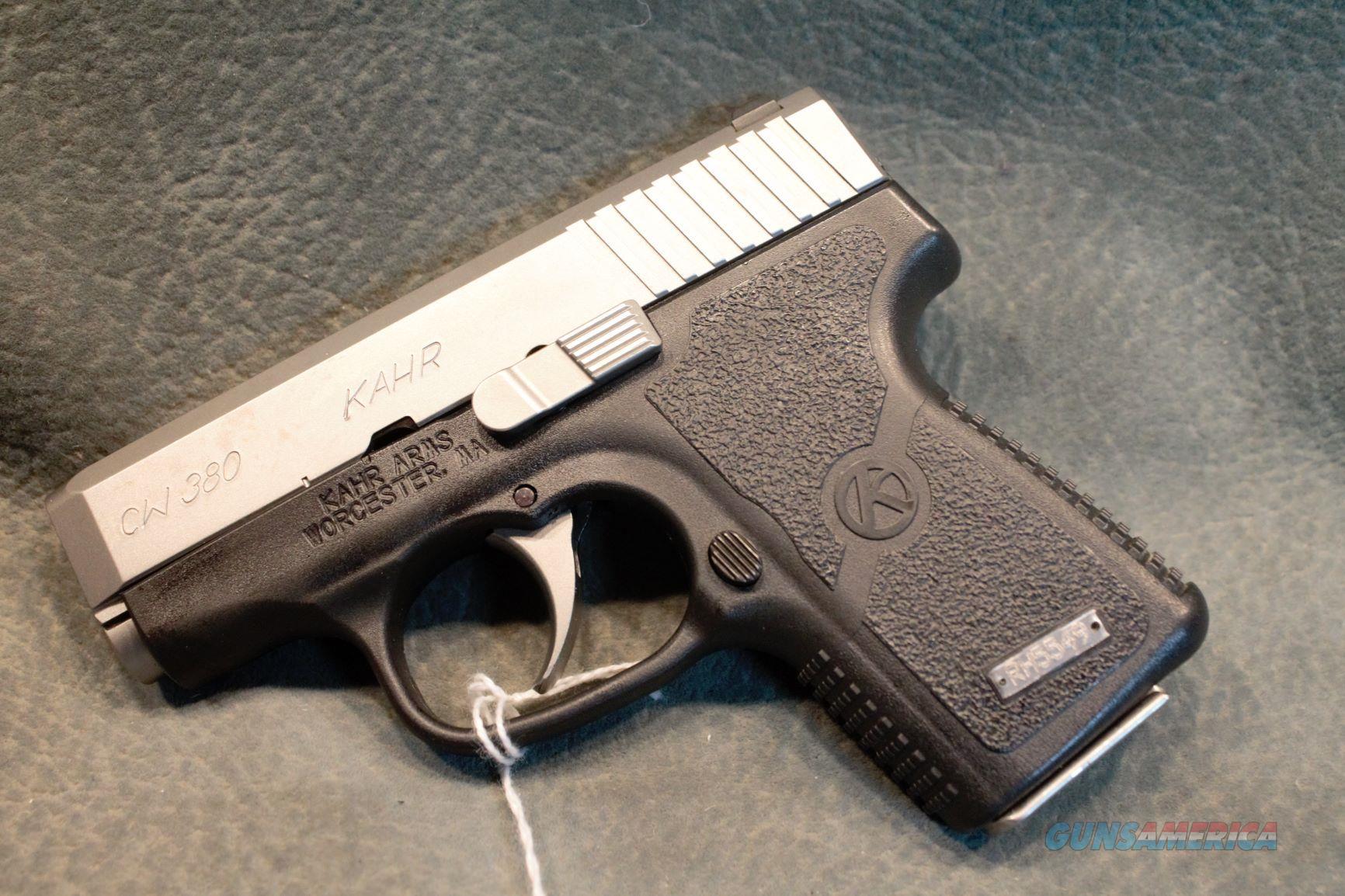 Kahr Arms CW 380 ACP  Guns > Pistols > Kahr Pistols