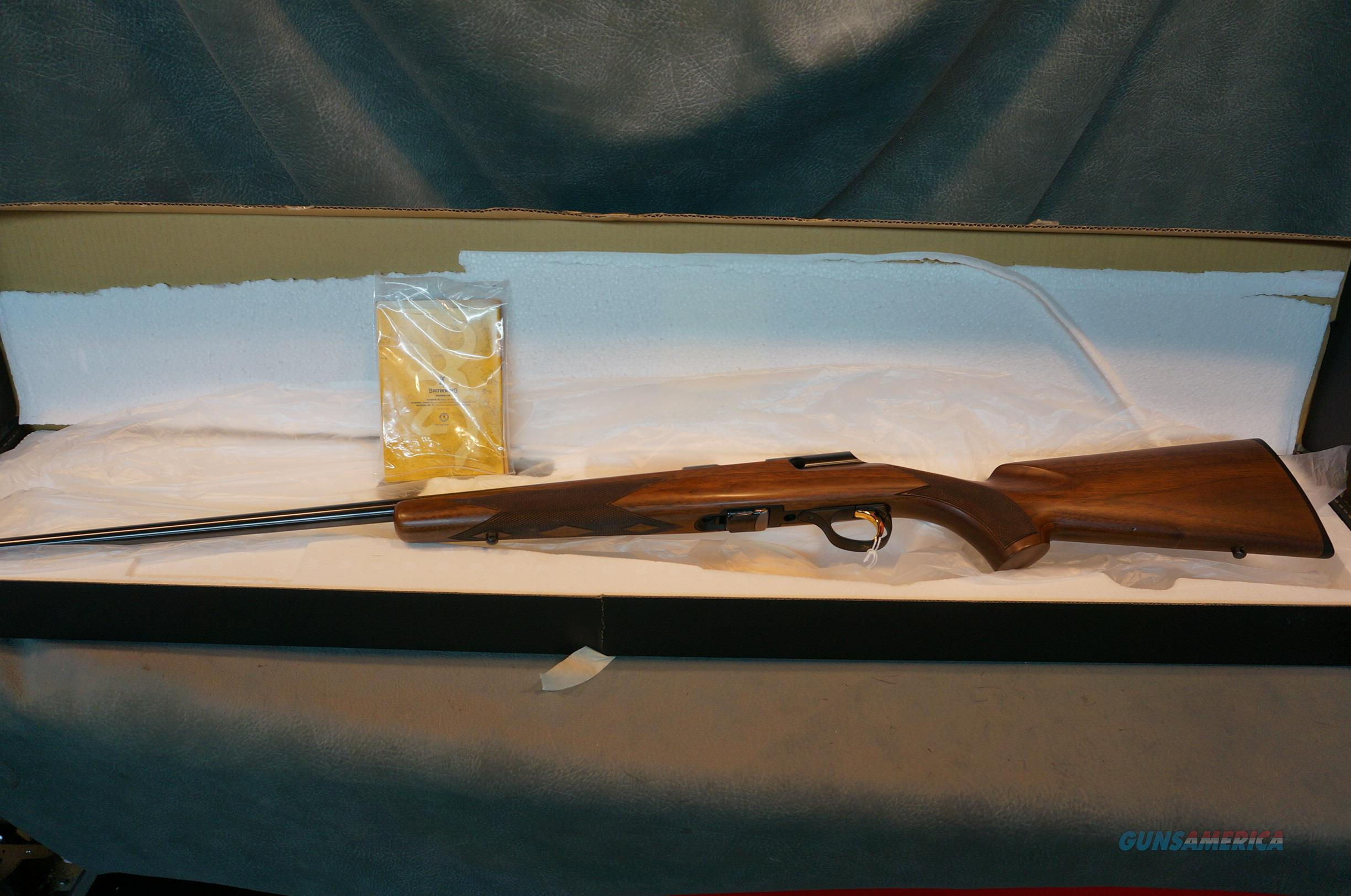 Browning T Bolt Sporter 22LR with box and papers  Guns > Rifles > Browning Rifles > Bolt Action > Hunting > Blue