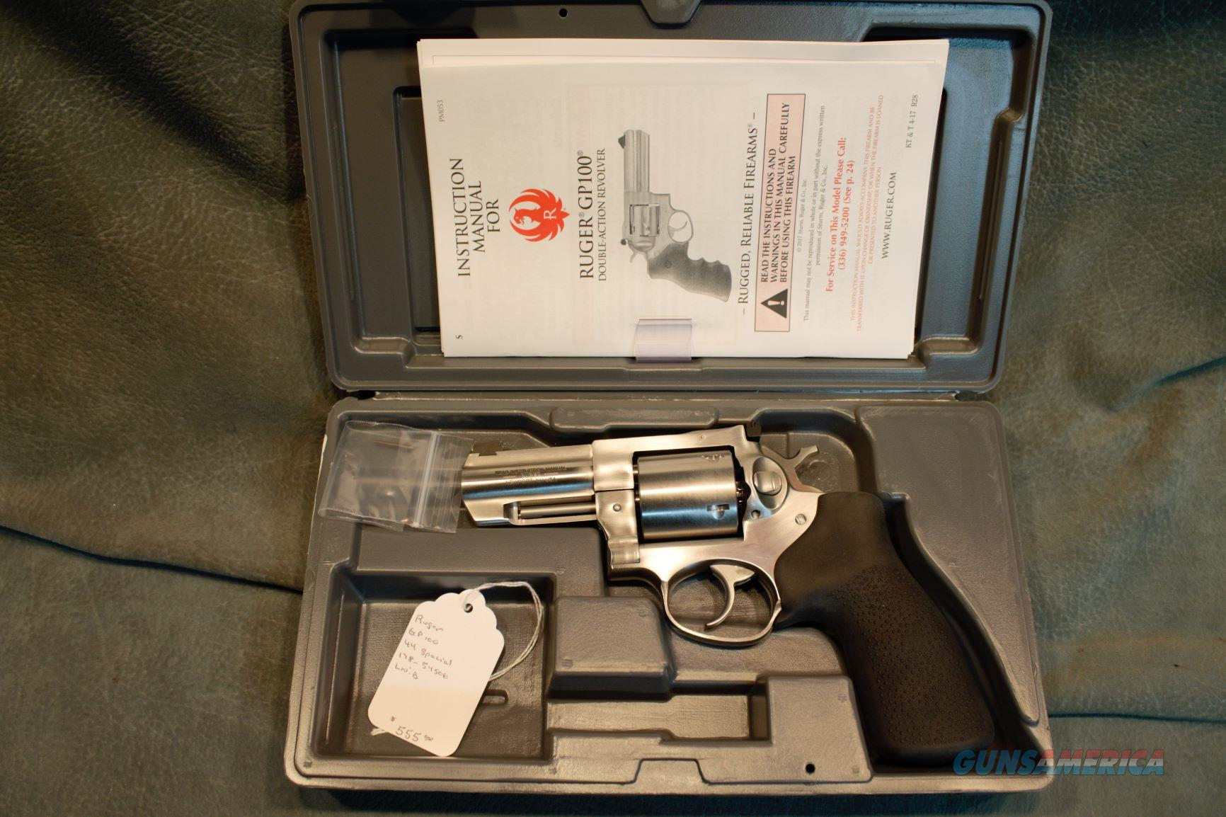 Ruger GP100 44 Special  Guns > Pistols > Ruger Double Action Revolver > GP100