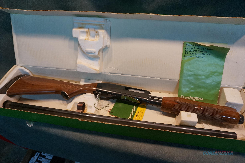 """Remington 870 12ga 3"""" early model with box and papers  Guns > Shotguns > Remington Shotguns  > Pump > Hunting"""