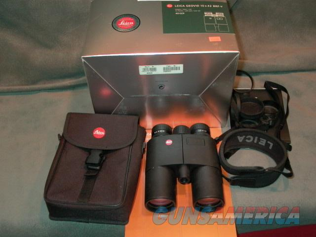 Leica Geovid 10x42 Binoculars  Non-Guns > Scopes/Mounts/Rings & Optics > Non-Scope Optics > Binoculars