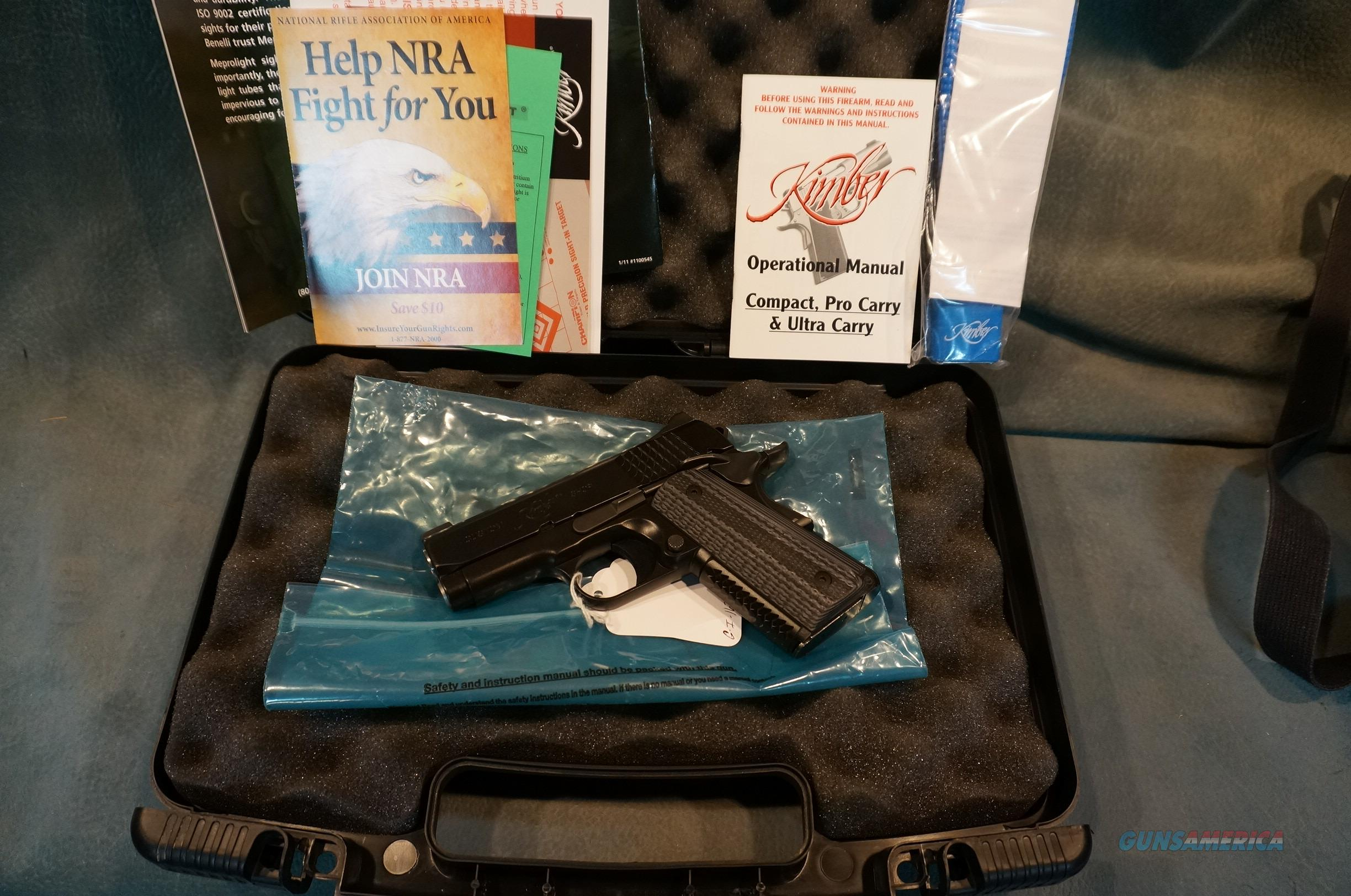 Kimber Custom Shop Super Ultra Carry HD 45ACP  Guns > Pistols > Kimber of America Pistols