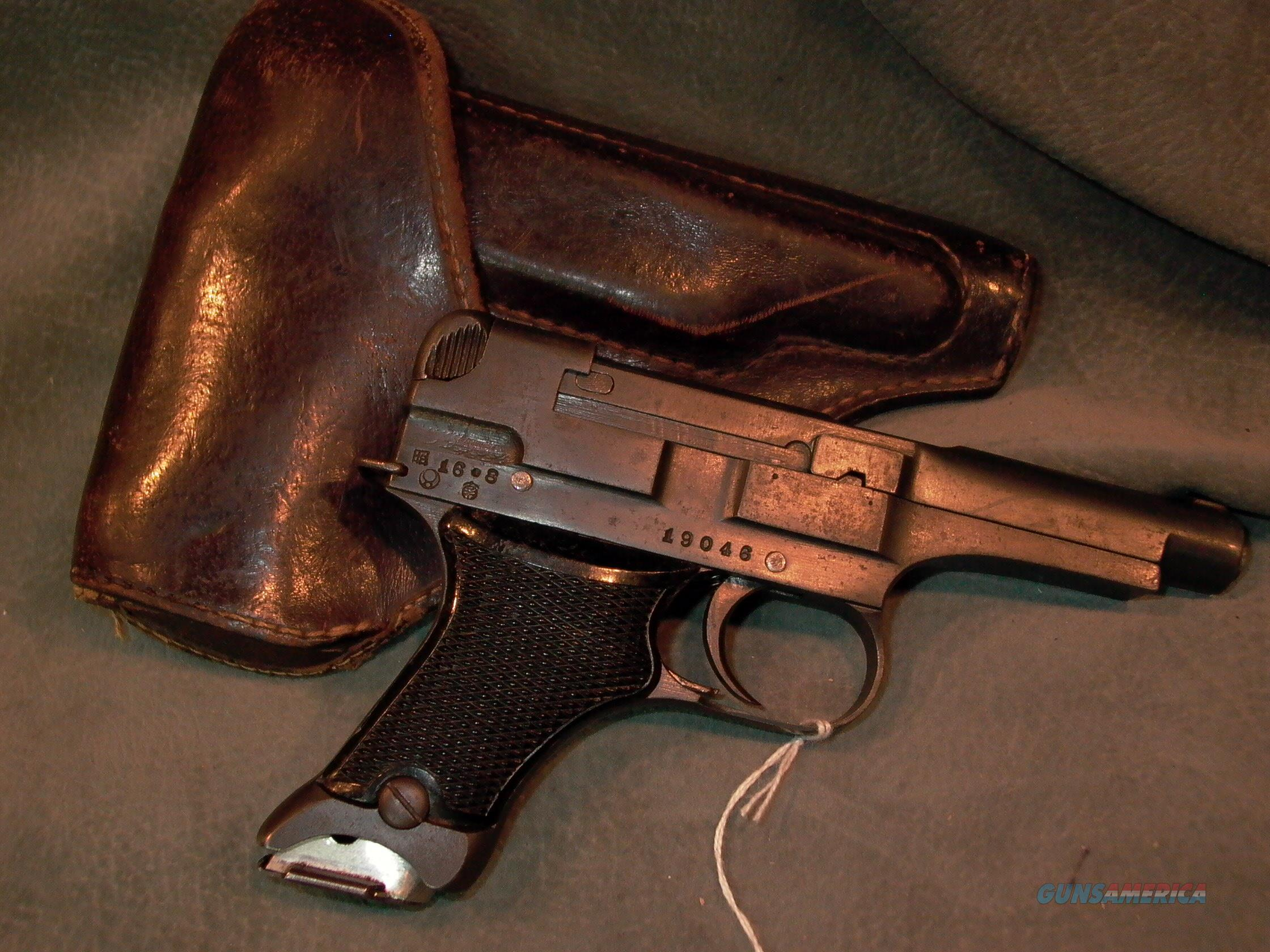 Japanese Type 94 8mmNambu with holster!  Guns > Pistols > Military Misc. Pistols Non-US